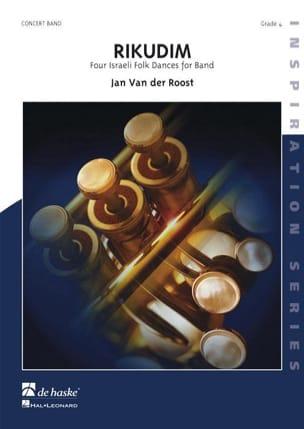 Jan van der Roost - Rikudim - Partition - di-arezzo.fr
