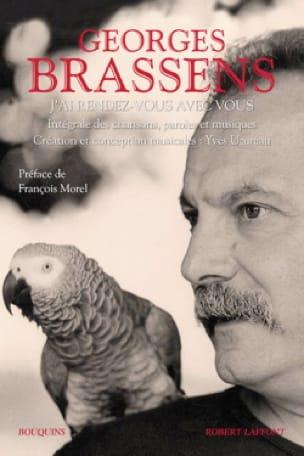 J'ai rendez-vous avec vous Georges Brassens Livre laflutedepan