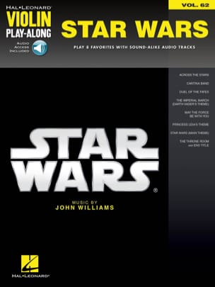 John Williams - Violin Play-Along Volume 62 - Star Wars - Partition - di-arezzo.fr