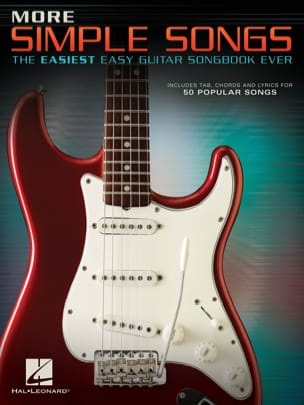 More Simple Songs - The Easiest Easy Guitar Songbook Ever - Sheet Music - di-arezzo.co.uk