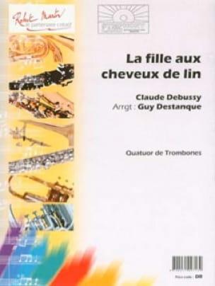 Claude Debussy - La fille aux cheveux de lin - Quatuor de Trombones - Partition - di-arezzo.fr