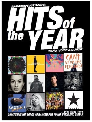 Hits Of The Year 2016 - Partition - Pop / Rock - laflutedepan.com