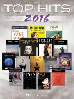 - Top Hits of 2016 - Sheet Music - di-arezzo.co.uk