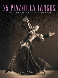 Astor Piazzolla - 25 Piazzolla Tangos for Clarinet and Piano - Sheet Music - di-arezzo.co.uk