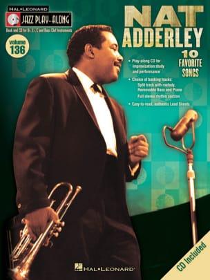 Nat Adderley - Jazz Play-Along Volume 136 - Nat Adderley - Sheet Music - di-arezzo.co.uk