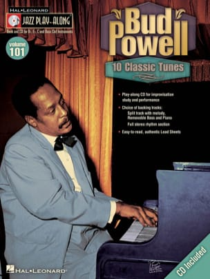 Jazz Play-Along Volume 101 - Bud Powell Bud Powell laflutedepan