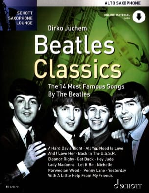Beatles Classics BEATLES Partition Saxophone - laflutedepan