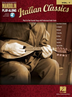 - Mandolin Play-Along Volume 7 Italian Classics - Partition - di-arezzo.fr