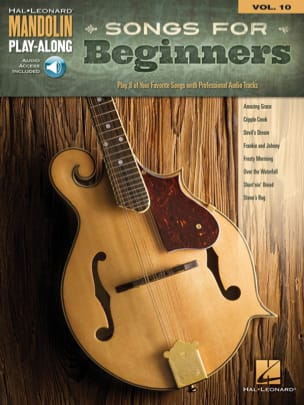- Mandolin Play-Along Volume 10 Songs for Beginners - Partition - di-arezzo.fr