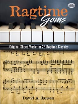 - Ragtime Gems: Original Sheet Music for 25 Ragtime Classics - Partition - di-arezzo.fr