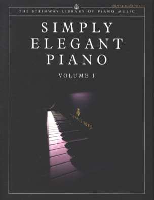 - Simply Elegant Piano - Volume I - Partition - di-arezzo.fr