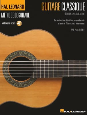 Paul Henry - Classical guitar - Edition with tablature - Sheet Music - di-arezzo.co.uk