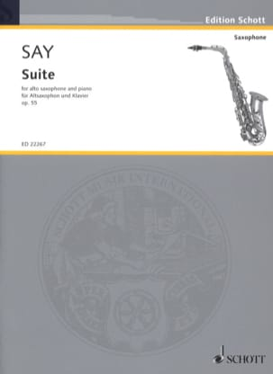 Fazıl Say - Suite, Op. 55 - Sheet Music - di-arezzo.co.uk