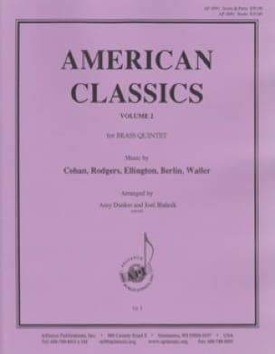 - American Classics, Volume 2 Score - Brass Quintet - Partition - di-arezzo.fr