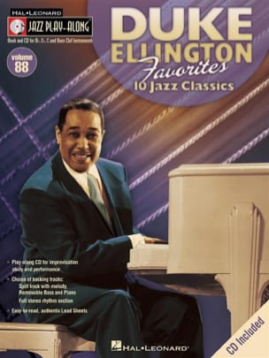 Duke Ellington - Jazz Play-Along Volume 88 - Duke Ellington Favorites - Partition - di-arezzo.fr