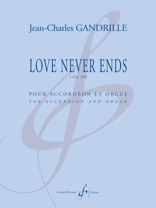 Love Never Ends Jean-Charles Gandrille Partition laflutedepan