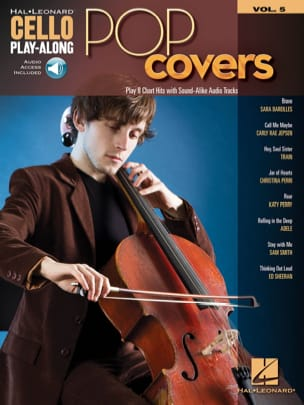 Cello Play-Along Volume 5 - Pop Covers - Partition - di-arezzo.fr
