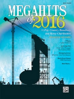 - Megahits of 2016 - Easy Piano - Sheet Music - di-arezzo.co.uk