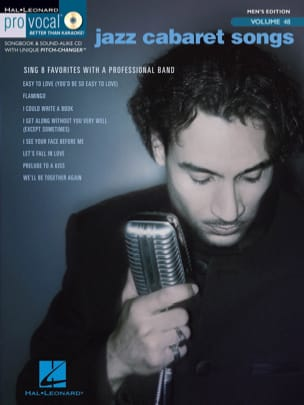 Pro Vocal Men's Edition Volume 48 - Jazz Cabaret Songs laflutedepan