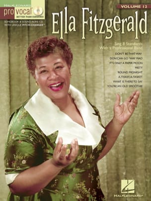 Pro Vocal Women's Edition Volume 12 - Ella Fitzgerald laflutedepan