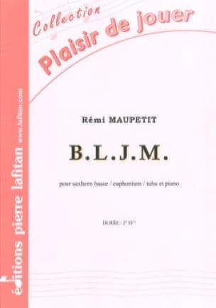 B.L.J.M. - Rémi Maupetit - Partition - Tuba - laflutedepan.com