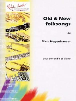 Old & New Folksongs - Marc Hegenhauser - Partition - laflutedepan.com