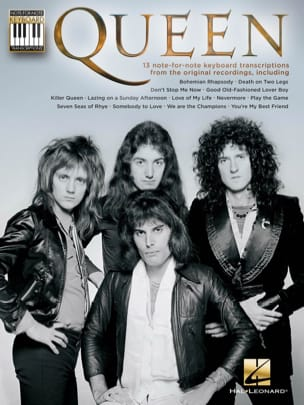 Queen - Note-for-Note Keyboard Transcriptions - Sheet Music - di-arezzo.com