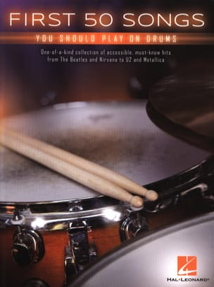 First 50 Songs You Should Play on Drums Partition laflutedepan