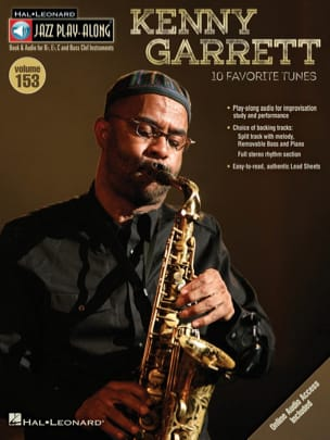 Kenny Garrett - Jazz Play-Along Volume 153 Kenny Garrett - Partition - di-arezzo.fr