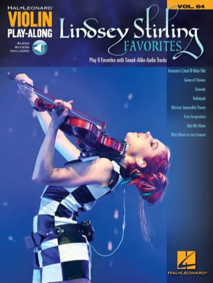 Violín Play Along Volumen 64 - Favoritos de Lindsey Stirling - Partition - di-arezzo.es