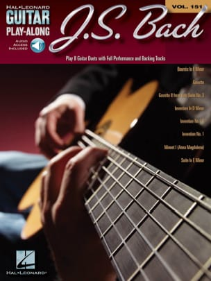 BACH - Guitar Play-Along Volume 151 JS Bach - Sheet Music - di-arezzo.co.uk