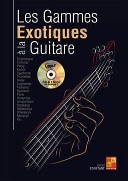 Lionel Constant - Les gammes exotiques à la guitare,-MP3 - Partition - di-arezzo.fr