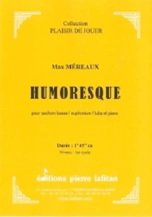 Humoresque - Max Méreaux - Partition - Tuba - laflutedepan.com