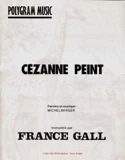 Michel Berger - Cézanne painted - Sheet Music - di-arezzo.co.uk