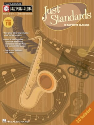 - Jazz Play-Along Volume 110 - Just Standards - Partitura - di-arezzo.it