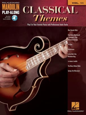 Mandolin Play-Along Volume 11 - Classical Themes laflutedepan