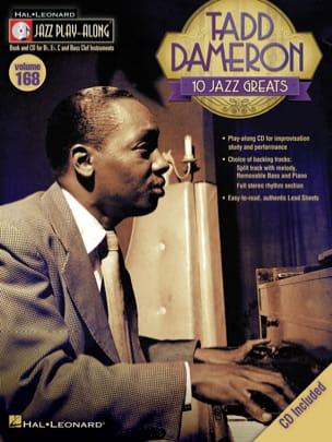 Tadd Dameron - Jazz Play-Along Volume 168 - Tadd Dameron - Sheet Music - di-arezzo.co.uk