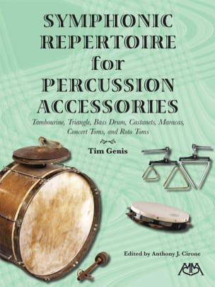 - Symphonic Repertoire for Percussion Accessories - Partition - di-arezzo.fr