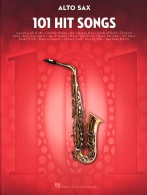 - 101 Hit Songs for Alto Sax - Partition - di-arezzo.fr