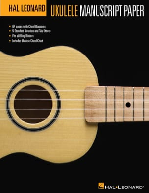 Papel de manuscrito de ukelele Hal Leonard - Papeleria - di-arezzo.es