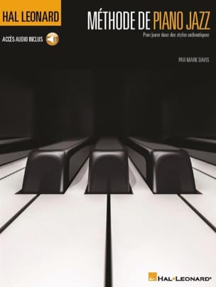 Méthode de piano jazz - Mark Davis - Partition - laflutedepan.com