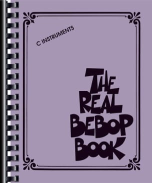 - The Real Bebop Book - C edition - Sheet Music - di-arezzo.co.uk