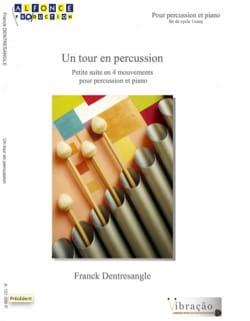 Franck Dentresangle - Un tour en percussion - Partition - di-arezzo.fr