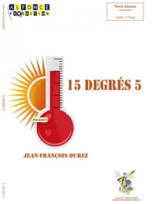 Jean-François Durez - 15 degrees 5 - Sheet Music - di-arezzo.co.uk