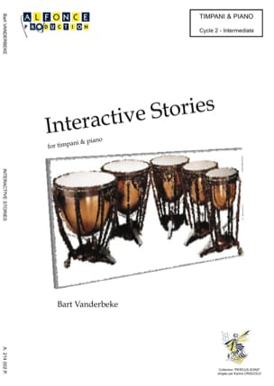 Bart Vanderbeke - Interactive Stories - Partition - di-arezzo.fr
