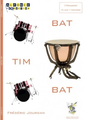 Frédéric Jourdan - Bat Tim Bat - Partition - di-arezzo.fr