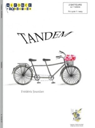 Tandem - Frédéric Jourdan - Partition - laflutedepan.com