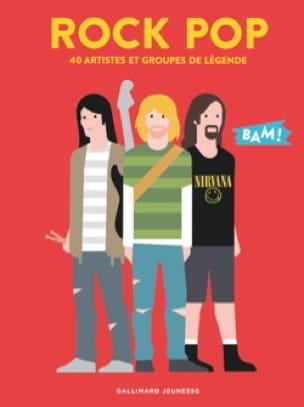 Hervé Guilleminot - Rock Pop - 40 artistes et groupes de légende - Livre - di-arezzo.fr
