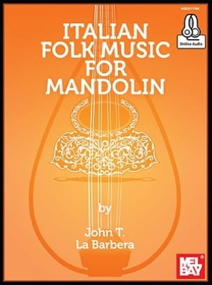 Italian Folk Music For Mandolin John LaBarbera Partition laflutedepan