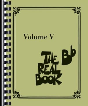 The Real Book - Volume 5 en Sib - Partition - di-arezzo.fr